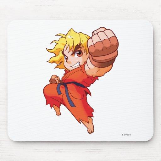 Pocket Fighter Ken Mousepad