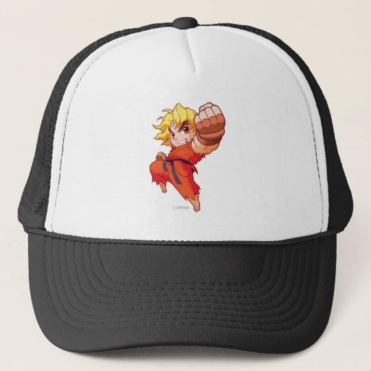 Pocket Fighter Ken Trucker Hat