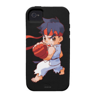 Pocket Fighter Ryu 2 Vibe iPhone 4 Cases