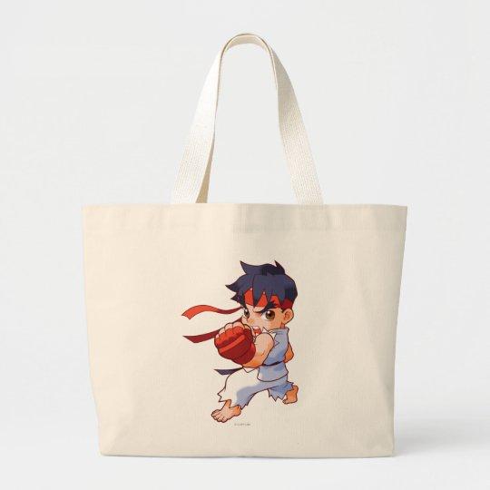 Pocket Fighter Ryu 2 Large Tote Bag