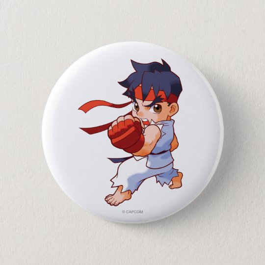 Pocket Fighter Ryu 2 Pinback Button