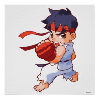 Pocket Fighter Ryu 2 Poster