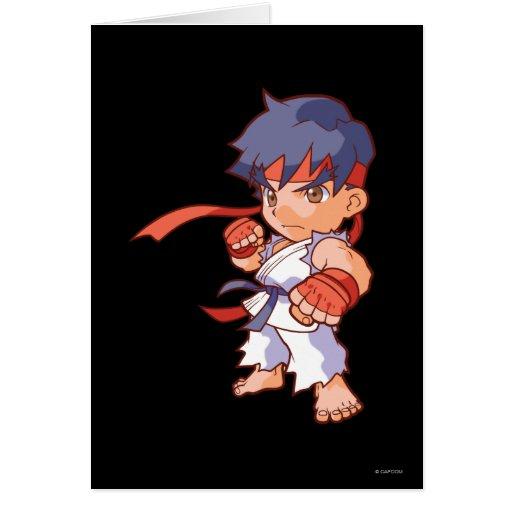 Pocket Fighter Ryu Card