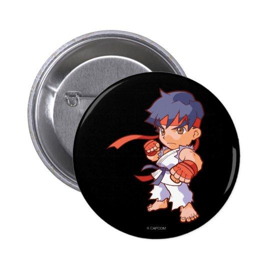 Pocket Fighter Ryu Pinback Button