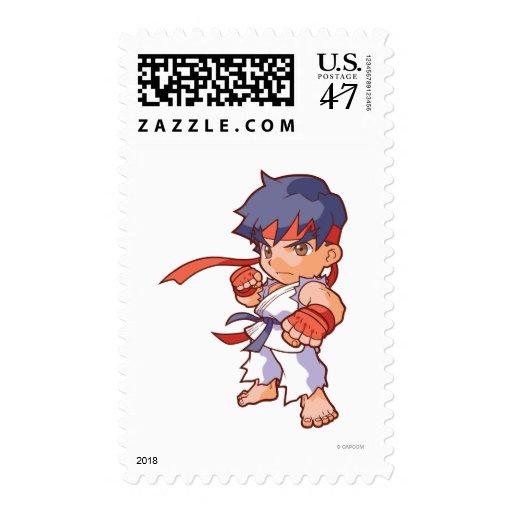 Pocket Fighter Ryu Postage