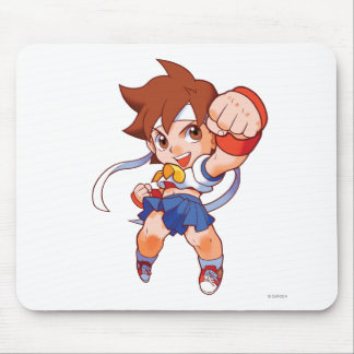 Pocket Fighter Sakura 2 Mouse Pad