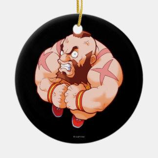 Pocket Fighter Zangief Ornaments