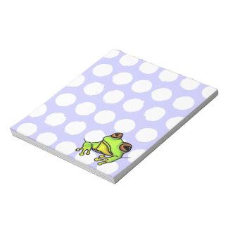 Pocket Frog Notepad