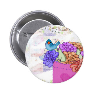 Pocket Full of Posies Button
