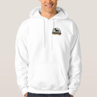 Pocket graphic hoodie