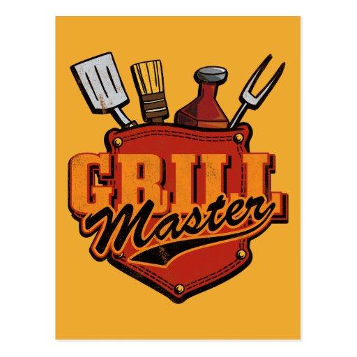 Pocket Grill Master Postcard