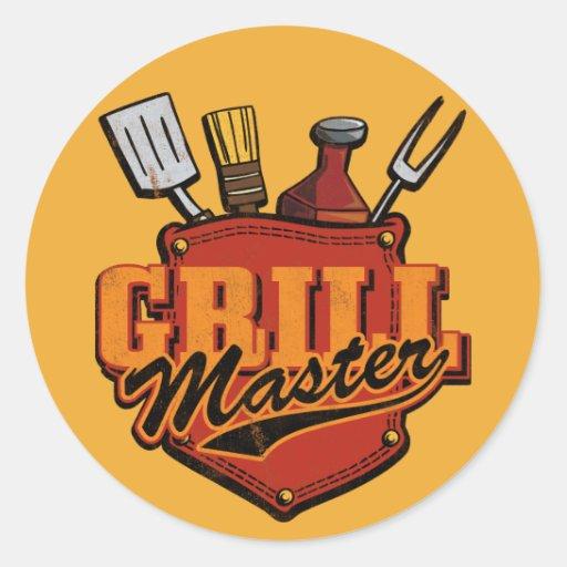 Pocket Grill Master Stickers