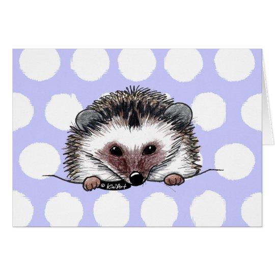 Pocket Hedgehog Card