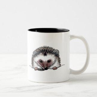 Pocket Hedgehog Two-Tone Coffee Mug