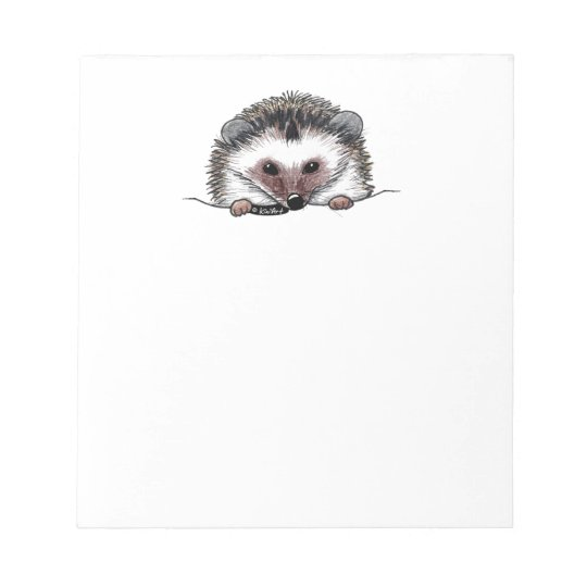 Pocket Hedgehog Notepad