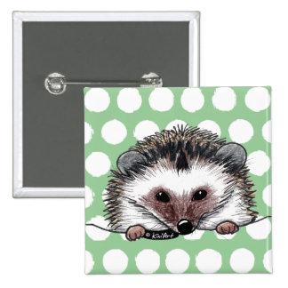 Pocket Hedgehog Pinback Button