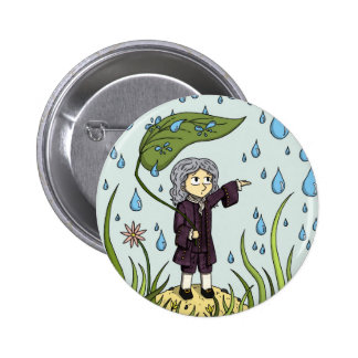 Pocket Isaac Newton Badge Pinback Button