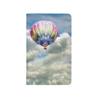 Pocket Journal - Hot Air Balloon in Clouds