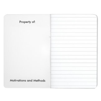 Pocket Journal : Motivations and Methods