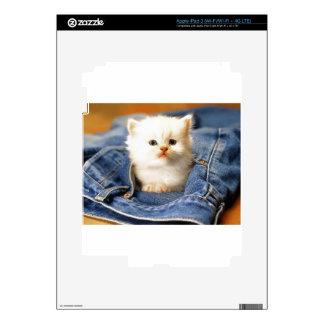 Pocket Kitten Decal For iPad 3