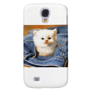 Pocket Kitten Galaxy S4 Cover