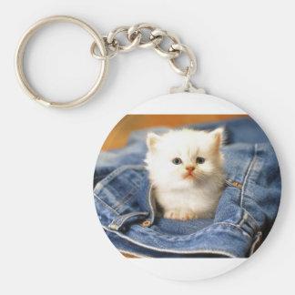 Pocket Kitten Keychain