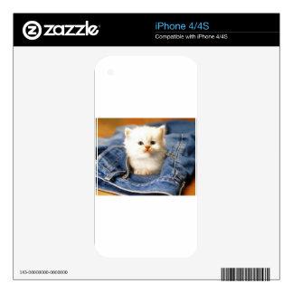 Pocket Kitten Skins For The iPhone 4