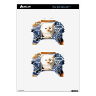 Pocket Kitten Xbox 360 Controller Decal