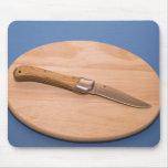 Pocket knife mousepad