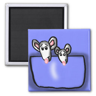 Pocket Mice brothers Magnet