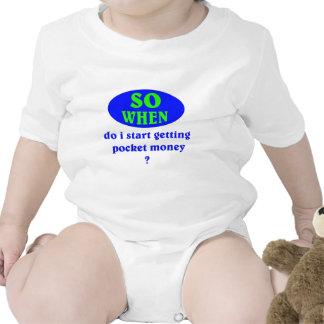 Pocket Money T Shirts
