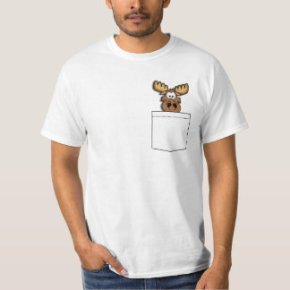 Pocket Moose T-Shirt