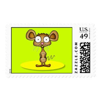 Pocket Mouse Postage Stamps