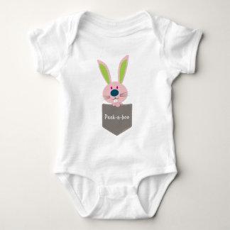 POCKET PALS :: Bunny Rabbit 1 Baby Bodysuit