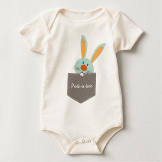 POCKET PALS :: Bunny Rabbit 2 Rompers