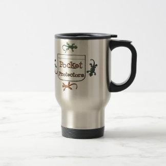 Pocket Protectors 15 Oz Stainless Steel Travel Mug