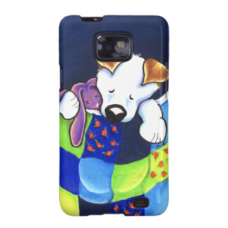 Pocket Puppy and Rabbit Samsung Galaxy S Cover