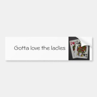 Pocket Q's Bumper Sticker