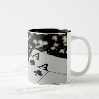 Pocket Rockets Two-Tone Coffee Mug