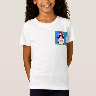 Pocket Sized Holiday Penguin T-Shirt