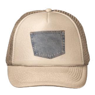 pocket trucker hat