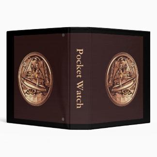 pocket watch 3 ring binder