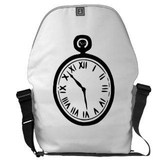 Pocket Watch Courier Bag