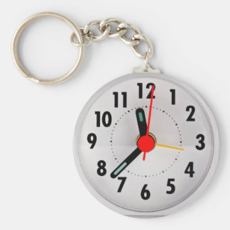 Pocket watch look key chains