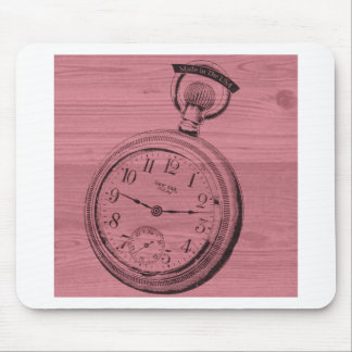 pocket watch mouse pad