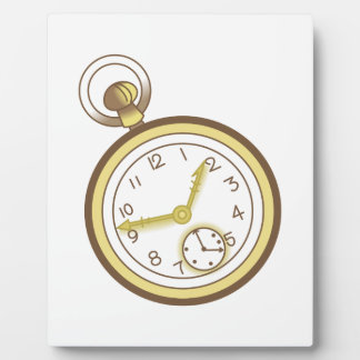 POCKET WATCH DISPLAY PLAQUES