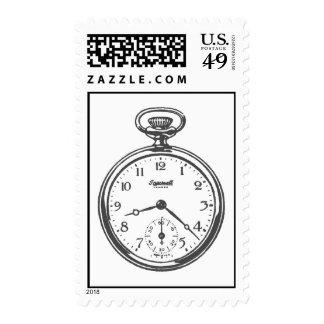 Pocket Watch Stamp