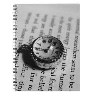 Pocket Watch Spiral Notebook