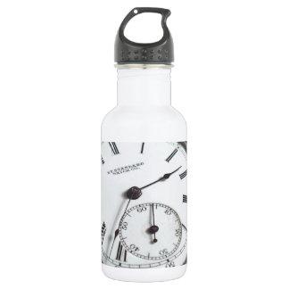 Pocket Watch Stainless Steel Water Bottle