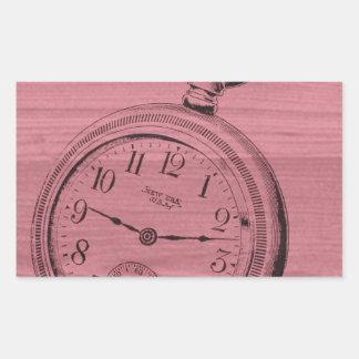 pocket watch sticker
